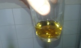 Préparer le Calvados. Prepare Calvados and fire