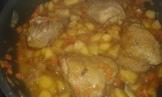 Le jus a bien réduit . C'est prêt à être servi. When sauce is reduced and chicken cooked , it's ready