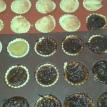 Comme il reste toujours un petit peu de pâte, je fais des mini-tartelettes avec. As there is always just a little pie crust pastry, I make mini-tarts with.