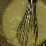 Remettre sur la plaque pour faire épaissir un peu, mais attention là aussi de ne pas faire disloquer la sauce.