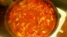 Laisser réduire la sauce pendant 10 minutes et c'est prêt. Let reduce the sauce for 10 minutes and it's ready