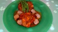 Vous pouvez servir avec un plat mijoté d'été ou des grillades. You can serve it with a mijoted deish or grill meats