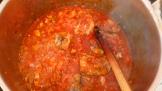 Une fois les morceaux de dindes, cuits les retirer et vérifier l'assaisonnement. Once the turkey slices cooked, and check seasoning