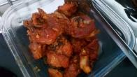 Une fois la viande cuite , la retirer du jus de cuisson. ONCe the meat cooked, take off from juice.